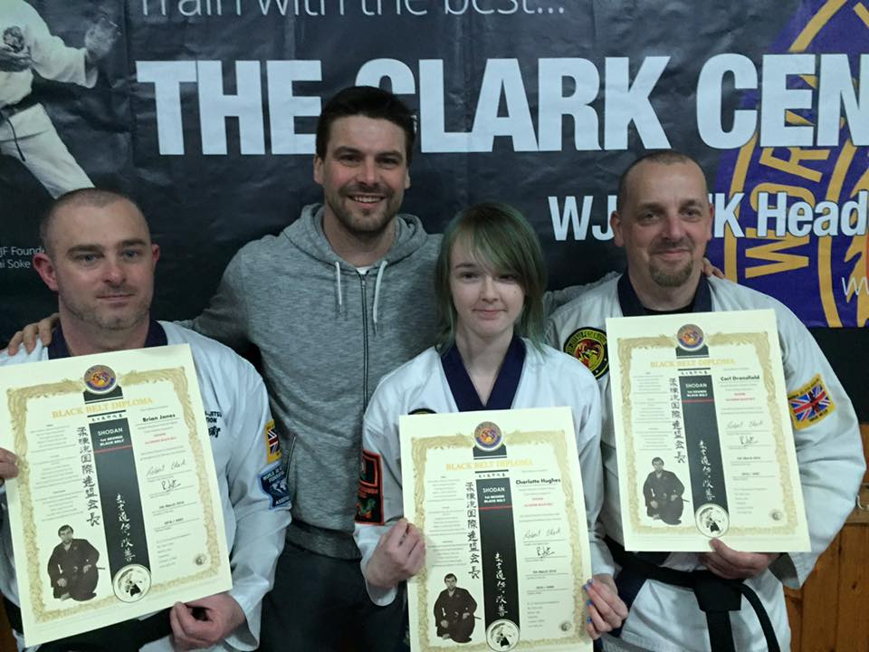 Our Newest Black Belts
